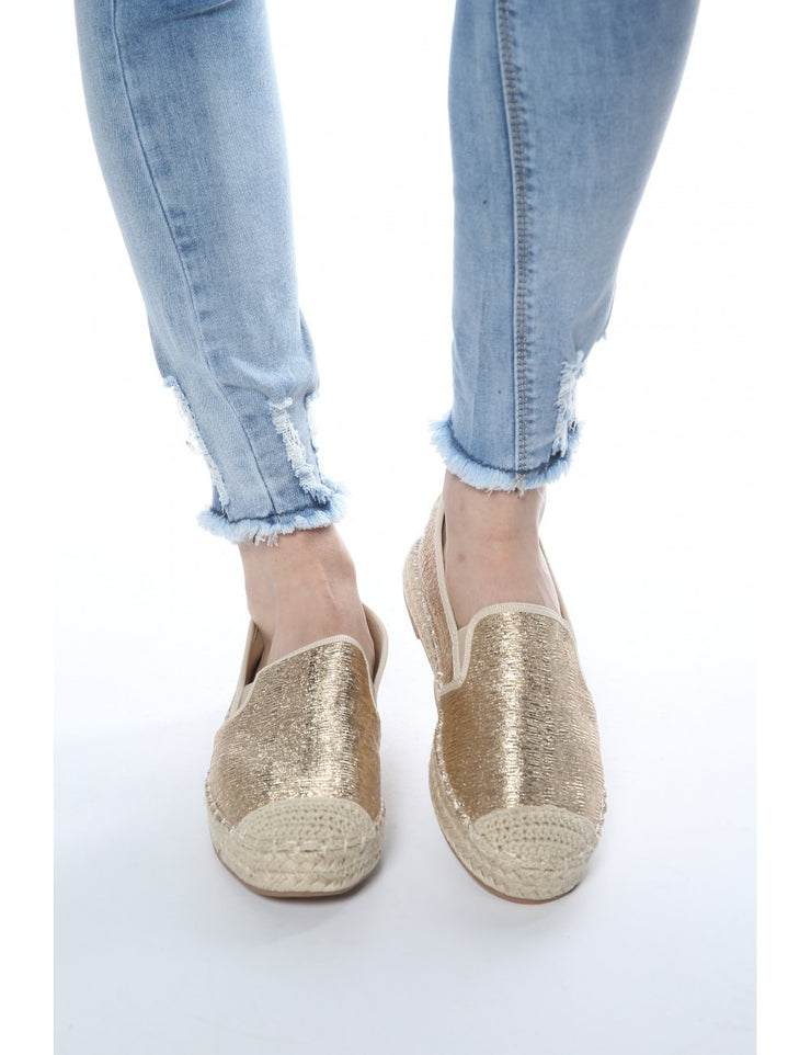 Espadrilles OR brillantes