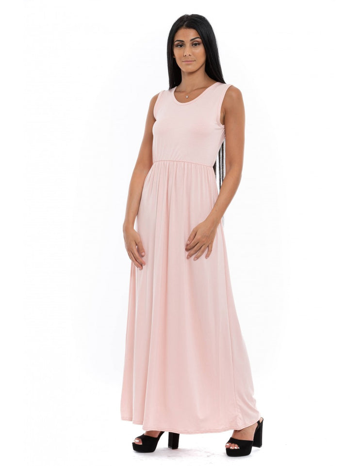 ROBE MOULANTE ROSE