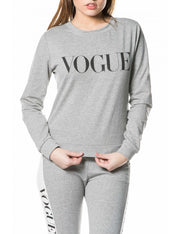 Sweat GRIS VOGUE