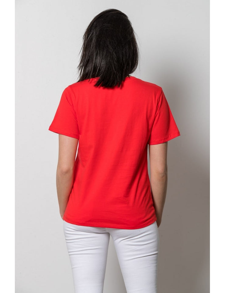 T shirt ROUGE message FUTURE