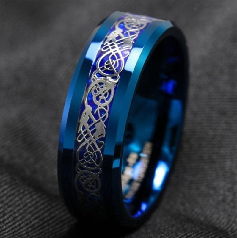 Ancient Dragons Ring Ring casetent 12 / Blue