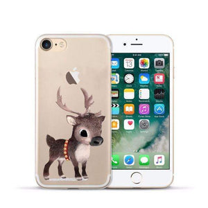 Animal Design Transparent Case iPhone Case casetent