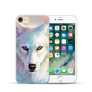 Animal Design Transparent Case iPhone Case casetent For iphone XR / 05