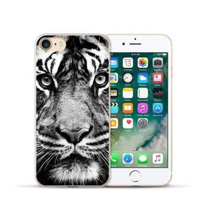 Animal Design Transparent Case iPhone Case casetent For iphone XR / 07