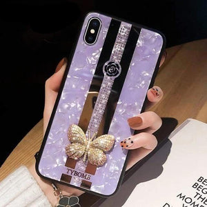 Beauty iPhone Case iPhone Case casetent For iPhone 7(8)Plus / Case Strap A1
