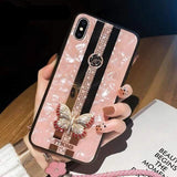 Beauty iPhone Case iPhone Case casetent For iPhone Xs Max / Case Strap A2