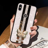 Beauty iPhone Case iPhone Case casetent For iPhone Xs Max / Case Strap A3