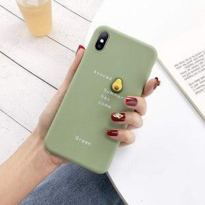 Candy Case For iPhone iPhone Case casetent For iPhone XR / Green