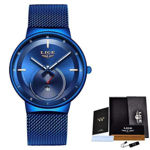 Classic Rose Gold Top Brand Women Watch Watch casetent Rose gold blue