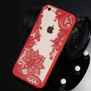 Fashion Stylish iPhone Case iPhone Case casetent For iPhone 8 Plus / SJ3296 Red