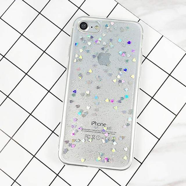 Glittery iPhone Case iPhone Case casetent For iPhone 8 Plus / Style 4