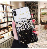 Leopard iPhone Case iPhone Case casetent For iPhone 7(8) / Only Case A4