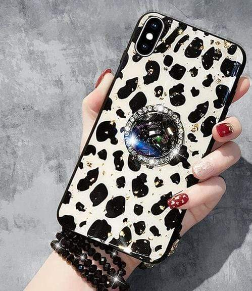 Leopard iPhone Case iPhone Case casetent For iPhone X / A3