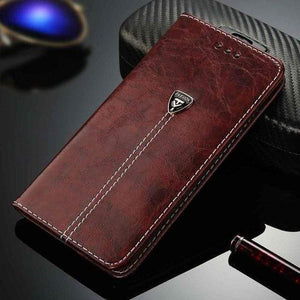 Luxury High Quality iPhone case iPhone Case casetent For iPhone 8 Plus / 2449 Brown
