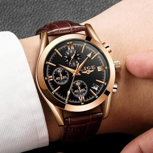 Luxury Waterproof Business Watch Watch casetent