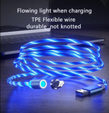 Magnetic charging Phone Cable USB Type C Charging Cable casetent