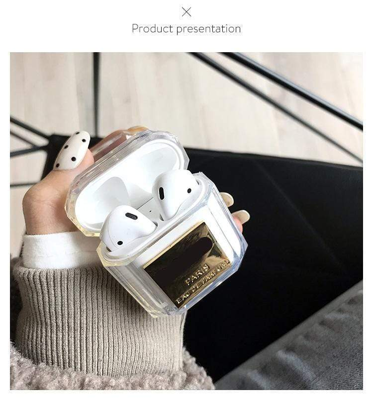 Perfume Design Anti-Lost strap Airpods Case Airpods Case casetent