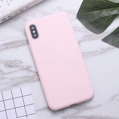 Samsung Galaxy Phone Case Soft Candy Color Samsung Galaxy Case casetent A3 2016 A310 / light pink