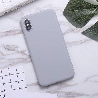 Samsung Galaxy Phone Case Soft Candy Color Samsung Galaxy Case casetent A5 2017 A520 / Gray