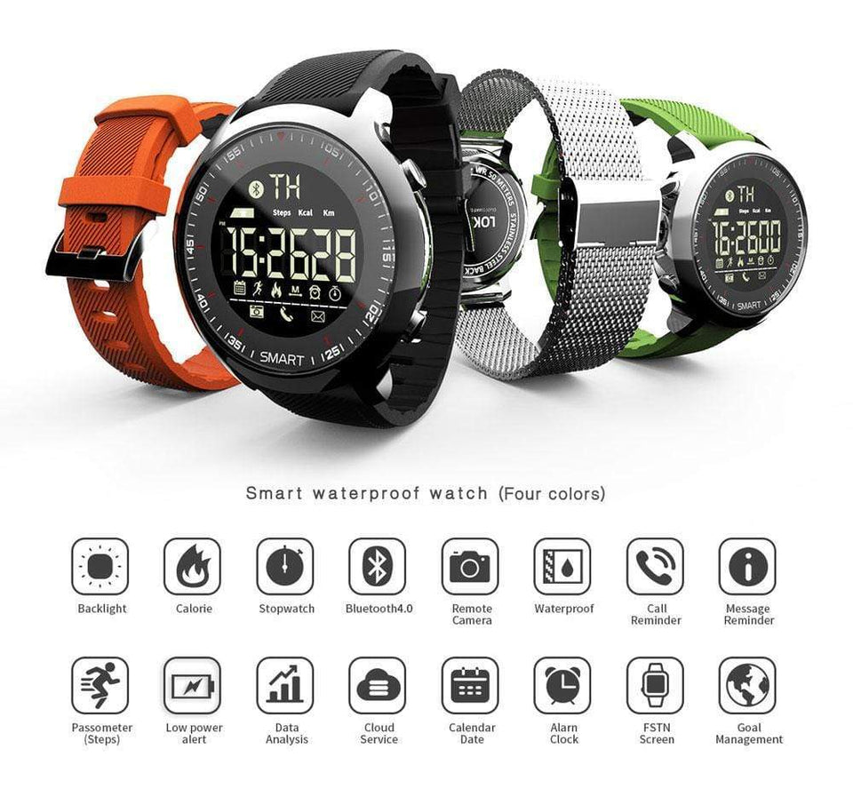 Smart Watch 50M Waterproof Smart Watch casetent