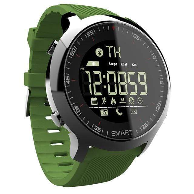 Smart Watch 50M Waterproof Smart Watch casetent green