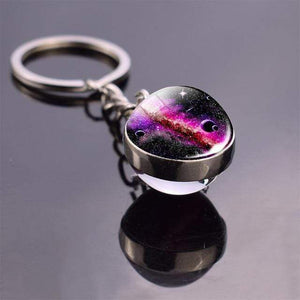 Solar System Planet and Galaxy Key chain Key Chain casetent size 12