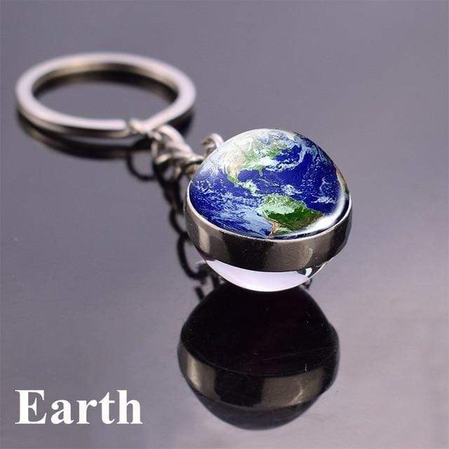 Solar System Planet and Galaxy Key chain Key Chain casetent size 2