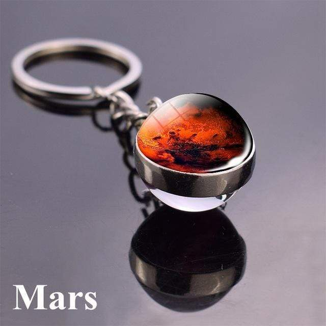 Solar System Planet and Galaxy Key chain Key Chain casetent size 4