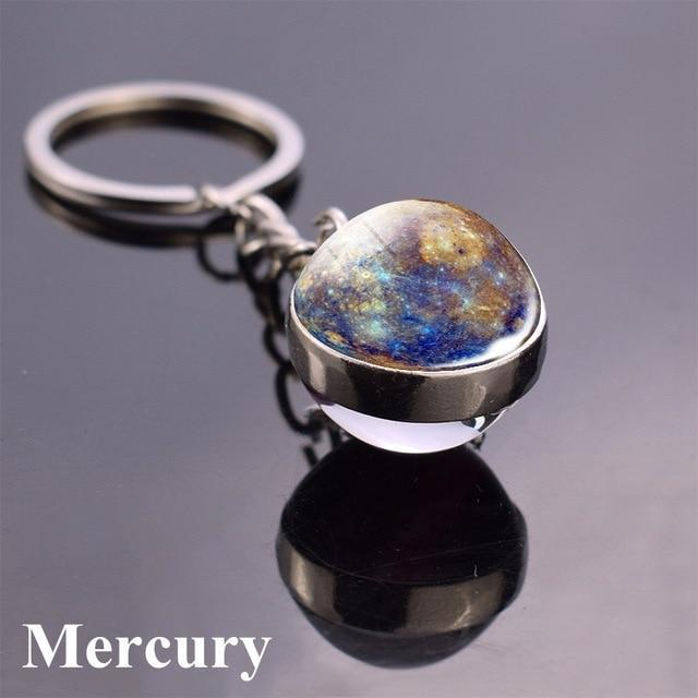 Solar System Planet and Galaxy Key chain Key Chain casetent size 6