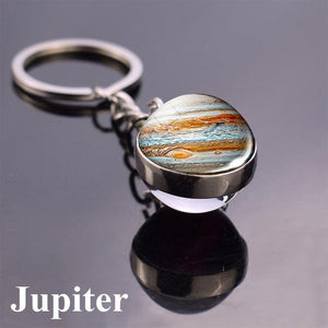 Solar System Planet and Galaxy Key chain Key Chain casetent size 9