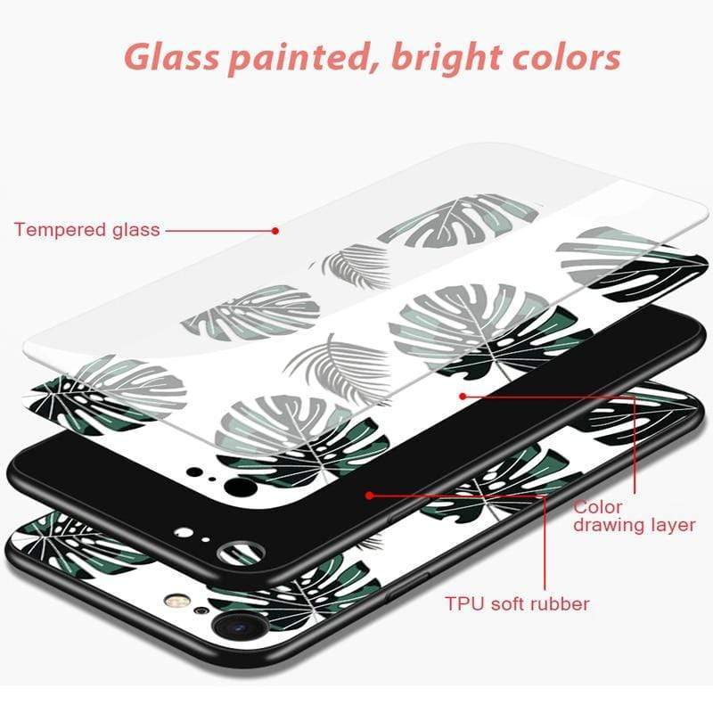 Stylish Tempered iPhone Case ( X & 11 ) SERIES iPhone Case casetent