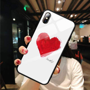 Stylish Tempered iPhone Case ( X & 11 ) SERIES iPhone Case casetent For iPhone X / 01