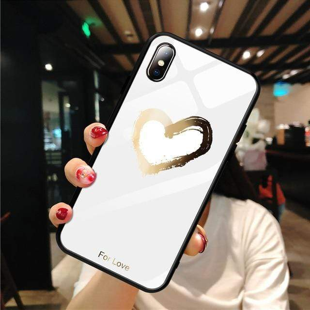 Stylish Tempered iPhone Case ( X & 11 ) SERIES iPhone Case casetent For iPhone XR / 04