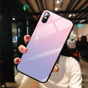 Stylish Tempered iPhone Case ( X & 11 ) SERIES iPhone Case casetent For iPhone XR / 08