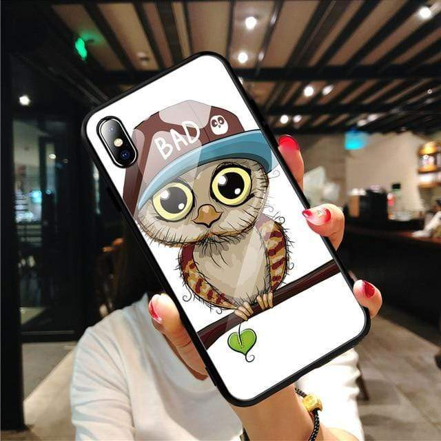 Stylish Tempered iPhone Case ( X & 11 ) SERIES iPhone Case casetent For iPhone XR / 10