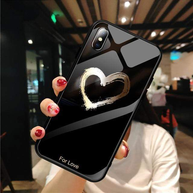 Stylish Tempered iPhone Case ( X & 11 ) SERIES iPhone Case casetent For iPhone XS MAX / 03