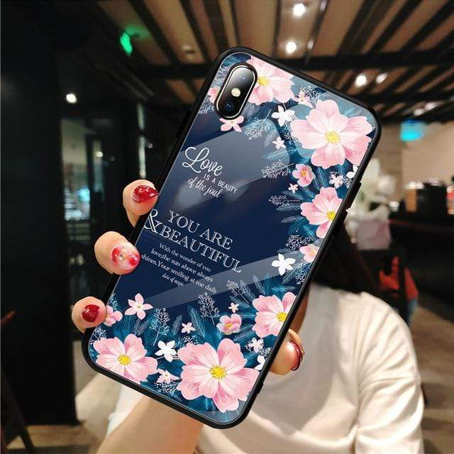 Stylish Tempered iPhone Case ( X & 11 ) SERIES iPhone Case casetent For iPhone XS MAX / 13
