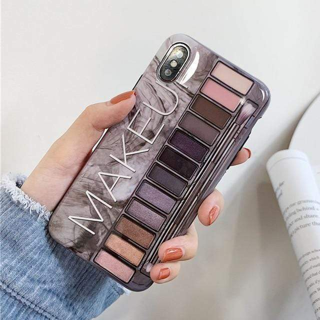Sunshine Eye Shadow Pallet iPhone Case iPhone Case casetent For iphone 6 6s / Black