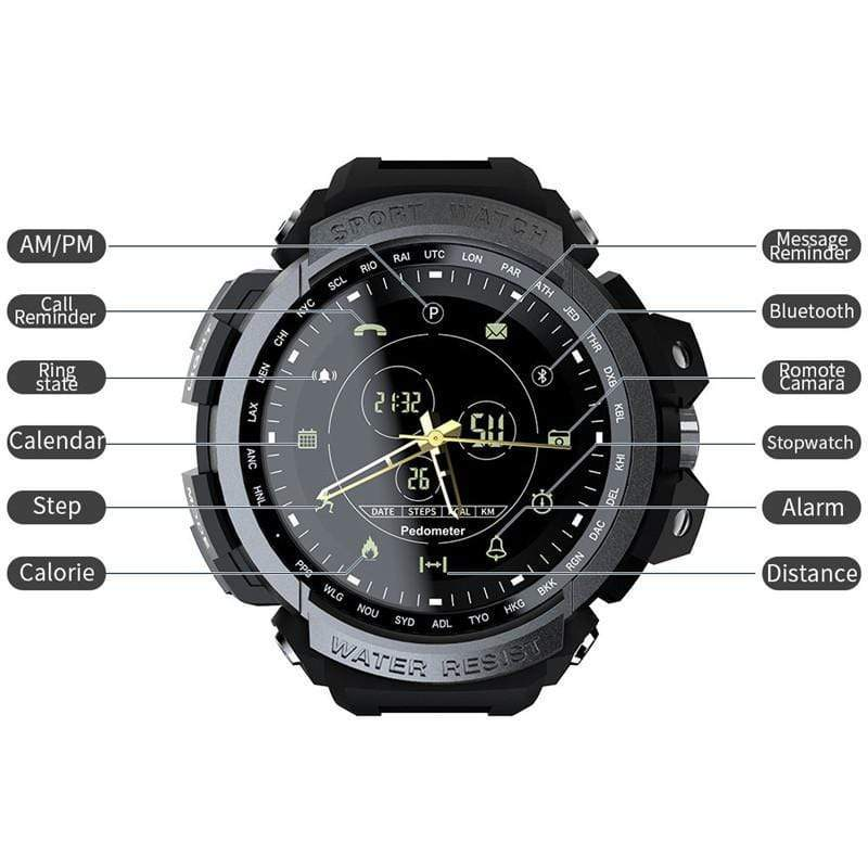 Teamo Smart Watch 50 M Waterproof Smart Watch casetent