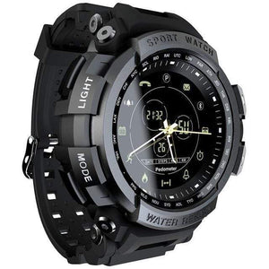 Teamo Smart Watch 50 M Waterproof Smart Watch casetent Black