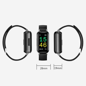 Wireless Bluetooth Headset & Smart Bracelet Smart Watch casetent