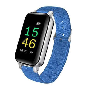 Wireless Bluetooth Headset & Smart Bracelet Smart Watch casetent Blue