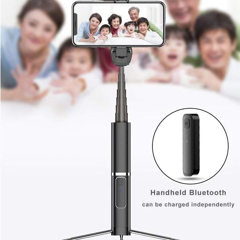 Wireless Bluetooth Selfie Stick Tripod Selfie stick casetent