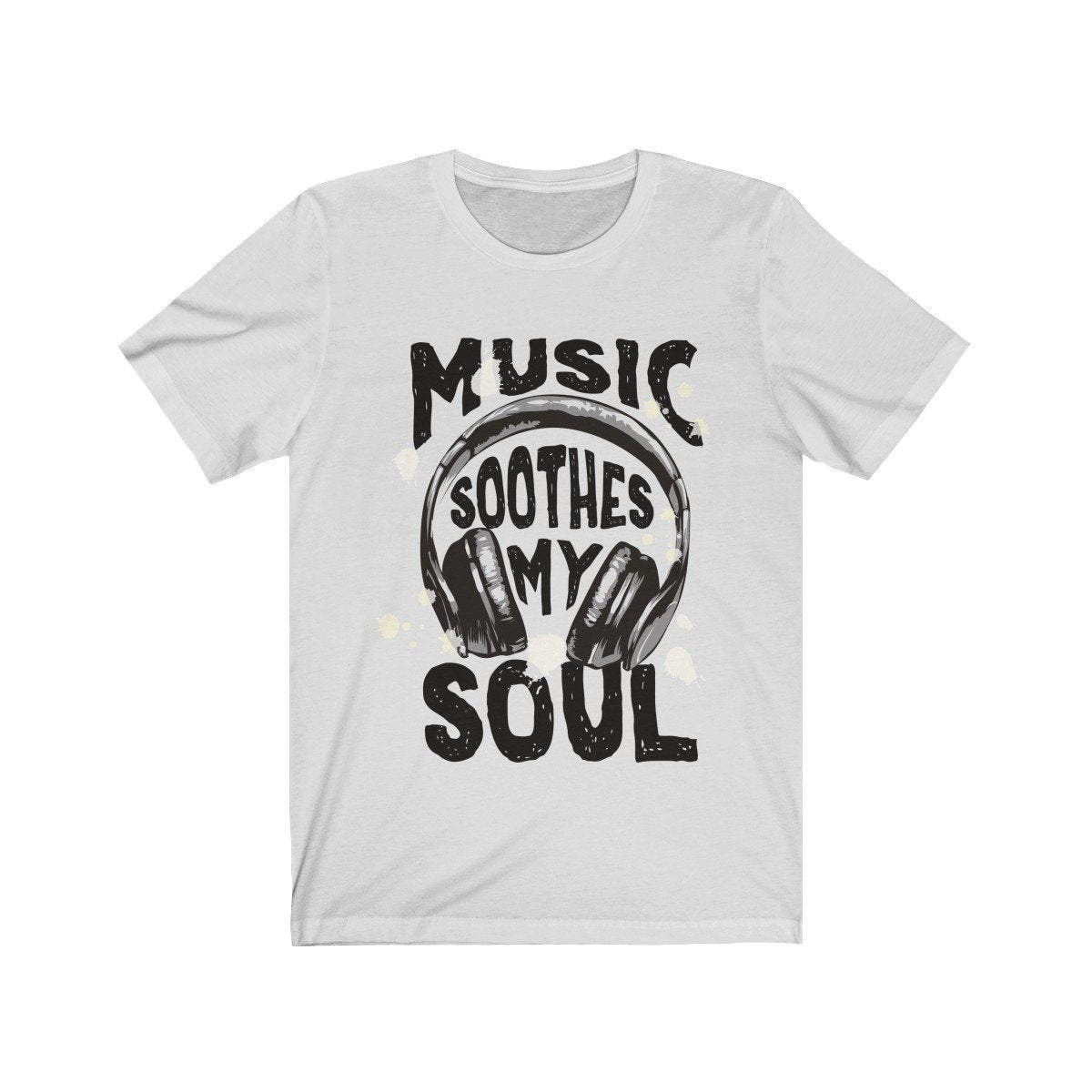 Music Soothes my soul Headphone Short Sleeve Tee - Null Audio