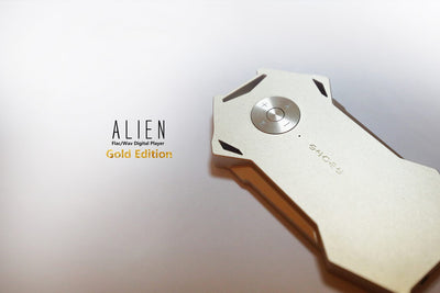 Shozy Alien Digital Audio Player Gold Edition - Null Audio
