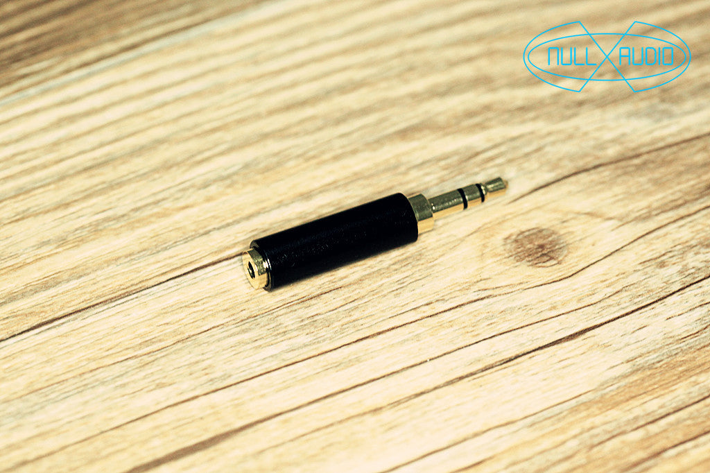 Null Audio 2.5mm Balanced to 3.5mm Converter - Null Audio