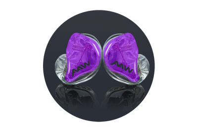 Advanced AcousticWerkes A3H V2 Pro Triple Driver Hybrid Custom In-Ear Monitor - Null Audio