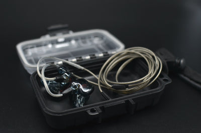 Null Audio Airtight & Shockwave Proof IEM/CIEM Case - Null Audio
