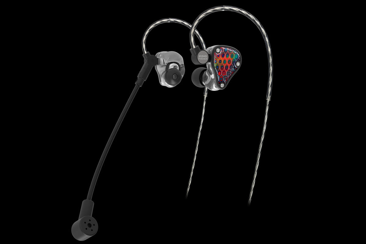 Kingfisher Ceramic Gaming Universal In-Ear Monitor - Null Audio
