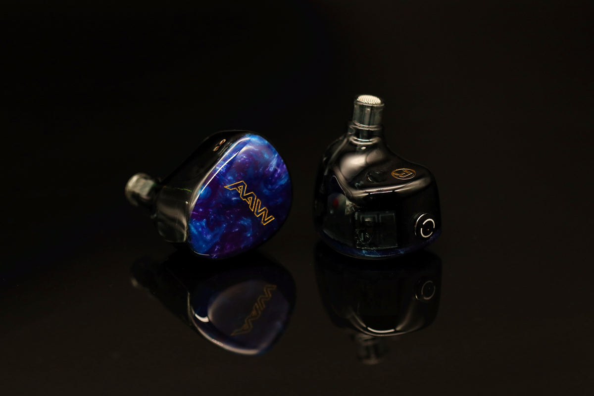 AAW x Custom Art Project 4+2 Hybrid In-Ear Monitor